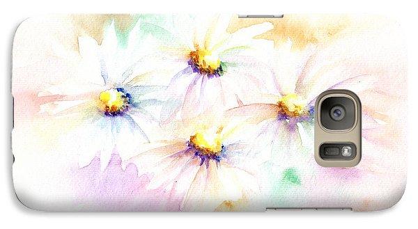 Galaxy Case featuring the mixed media Daisy by Elizabeth Lock