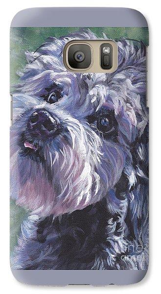 Galaxy Case featuring the painting Dandie Dinmont Terrier by Lee Ann Shepard