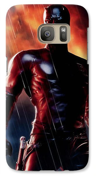 Daredevil Collection Galaxy S7 Case by Marvin Blaine