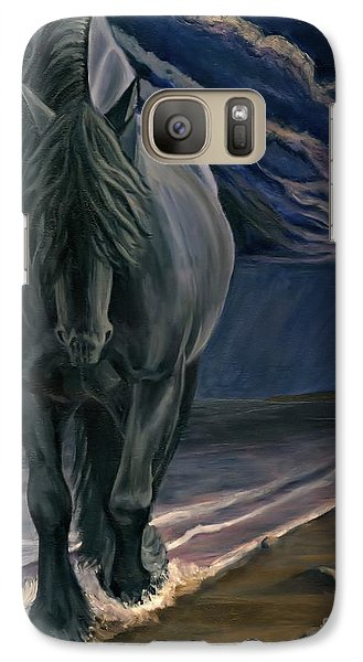 Galaxy Case featuring the painting Dark Knight Of The Soul by Sheri Gordon