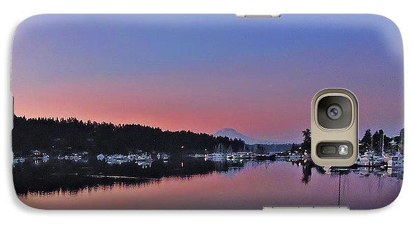 Dawn At Gig Harbor Galaxy S7 Case