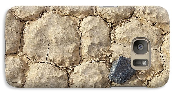Galaxy Case featuring the photograph Death Valley Mud by Breck Bartholomew