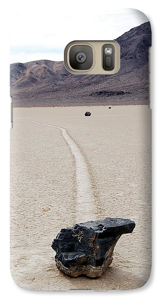 Galaxy Case featuring the photograph Death Valley Racetrack by Breck Bartholomew
