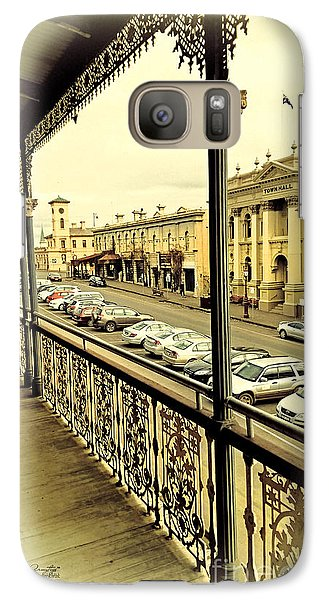 Galaxy Case featuring the photograph Downtown Daylesford II by Chris Armytage