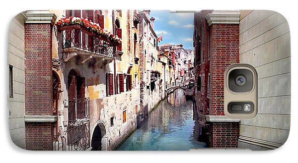 Featured Images Galaxy S7 Case - Dreaming Of Venice Panorama by Az Jackson