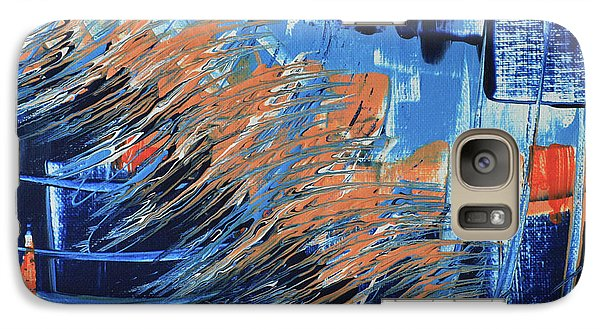 Galaxy Case featuring the painting Dreaming Sunshine  by Cathy Beharriell