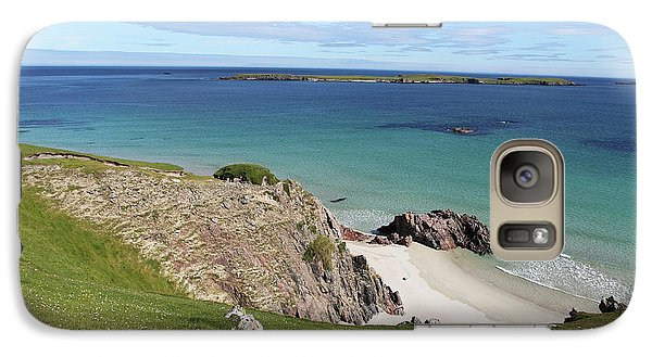 Galaxy Case featuring the photograph Durness - Scotland by Pat Speirs