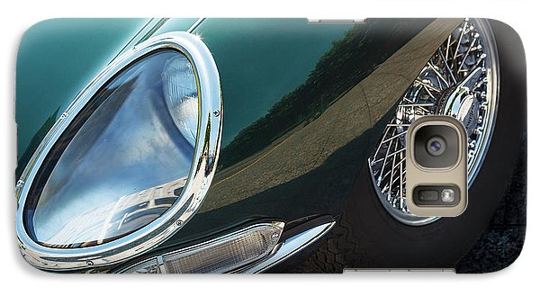 Galaxy Case featuring the photograph E-type by Dennis Hedberg