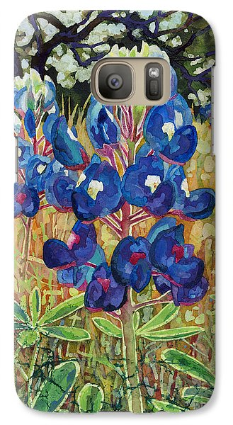 Galaxy Case featuring the painting Early Bloomers by Hailey E Herrera