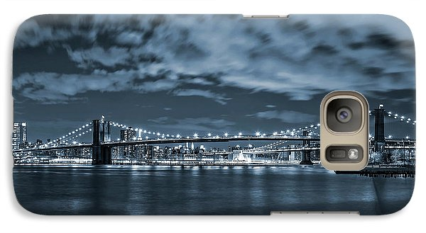 Galaxy Case featuring the photograph East River View by Az Jackson