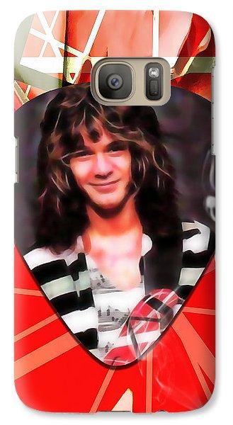 Eddie Van Halen Art Galaxy Case by Marvin Blaine
