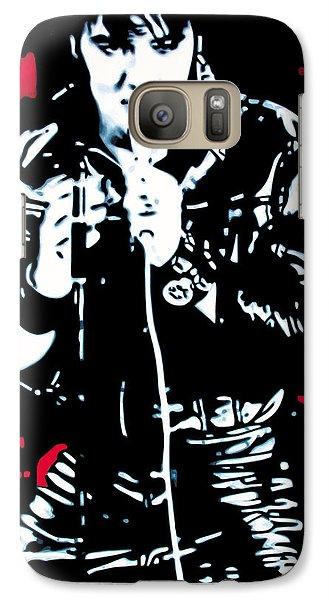 Elvis Presley Galaxy S7 Case - Elvis by Luis Ludzska
