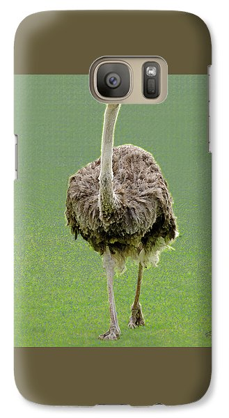 Emu Galaxy S7 Case by Ellen Henneke