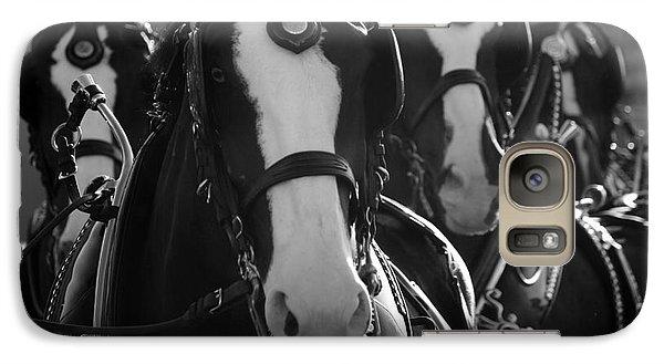 Galaxy Case featuring the photograph Equine Elegance by Wilko Van de Kamp