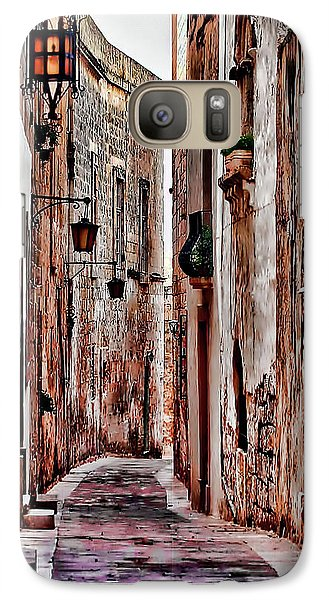 Galaxy Case featuring the photograph Etched In Stone by Tom Prendergast