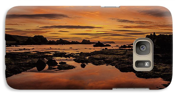 Galaxy Case featuring the photograph Evenings End by Roy McPeak