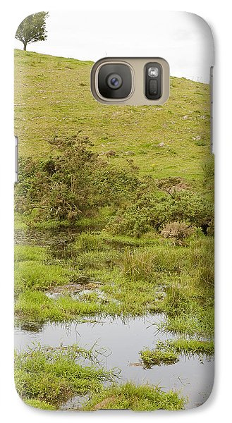 Galaxy Case featuring the photograph Fairy Tree In Ireland by Ian Middleton