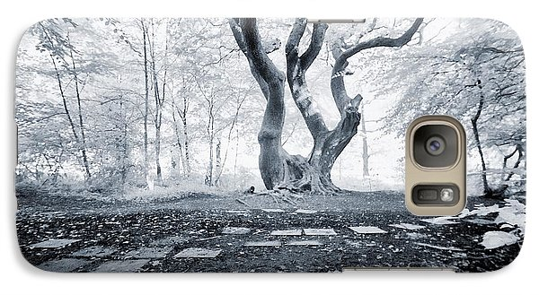 Galaxy Case featuring the photograph Fairy Tree by Keith Elliott