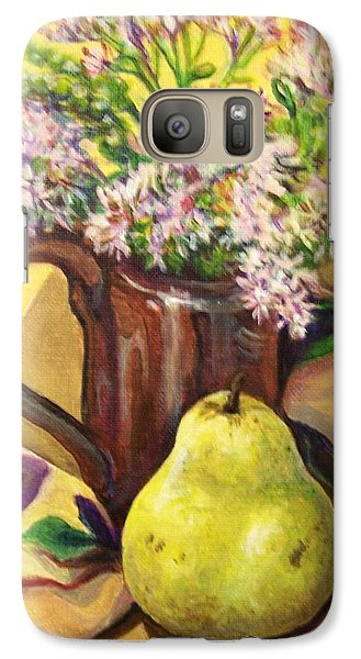Galaxy Case featuring the painting Fall Still Life by Laura Aceto