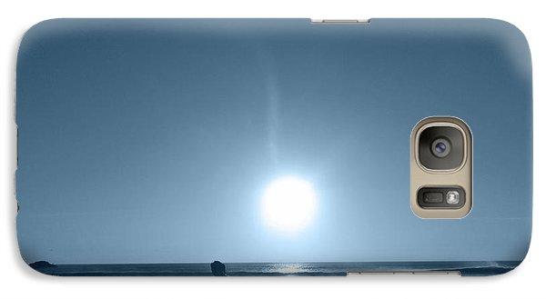 Galaxy Case featuring the photograph Falling Moon  by Beto Machado