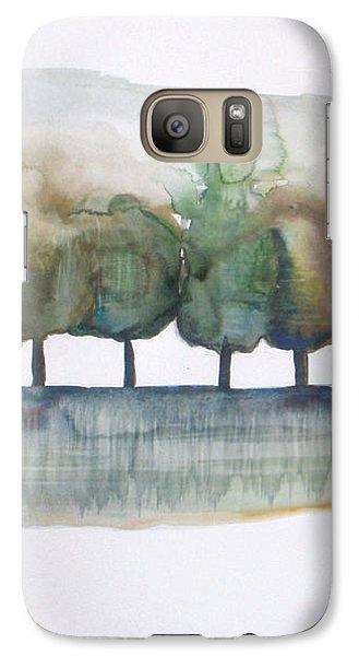 Abstract Galaxy S7 Case - Family Trees by Vesna Antic