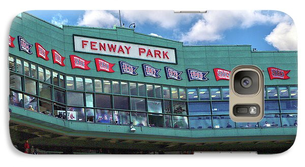 Galaxy Case featuring the photograph Fenway Park by Mitch Cat