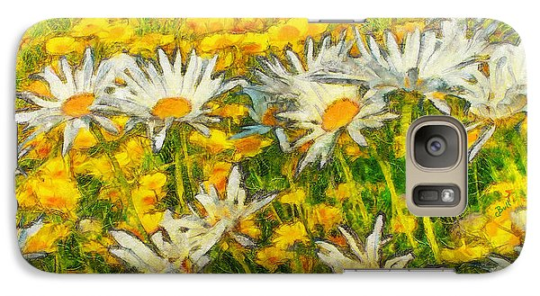 Field Of Daisies Galaxy S7 Case