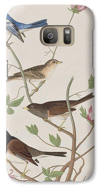 Finches Galaxy S7 Case by John James Audubon