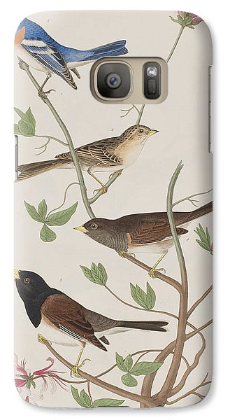 Finches Galaxy S7 Case by John James Audubon