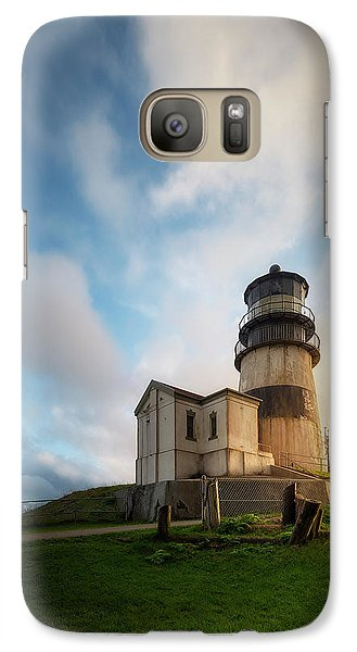 Galaxy Case featuring the photograph First Light by Ryan Manuel