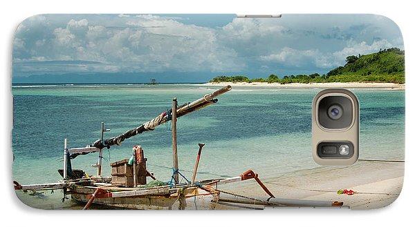 Fishing Boat Galaxy S7 Case