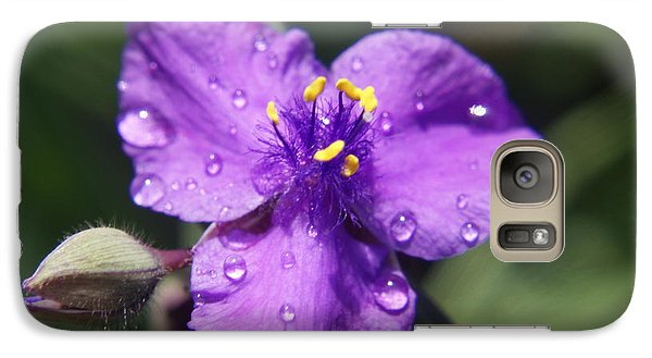 Galaxy Case featuring the photograph Flower by Heidi Poulin
