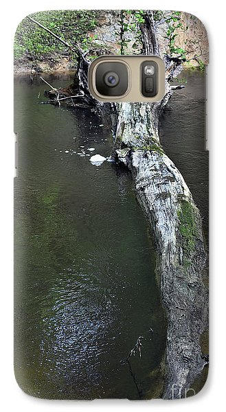 Galaxy Case featuring the photograph Footbridge by Skip Willits