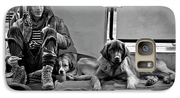 Galaxy Case featuring the photograph For The Love Of Dog by Sonny Marcyan