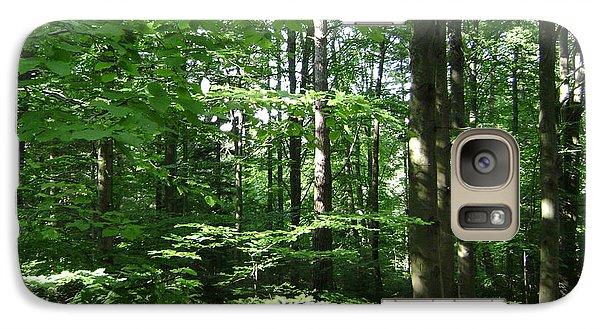 Galaxy Case featuring the photograph Forest by Bozena Zajaczkowska