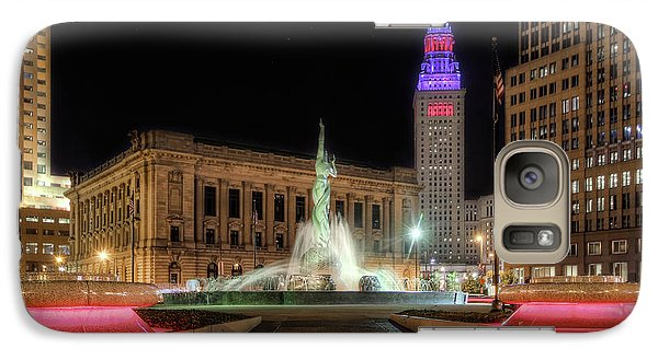 Galaxy Case featuring the photograph  Fountain Of Eternal Life by Brent Durken