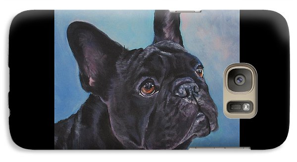 Galaxy Case featuring the painting French Bulldog by Lee Ann Shepard