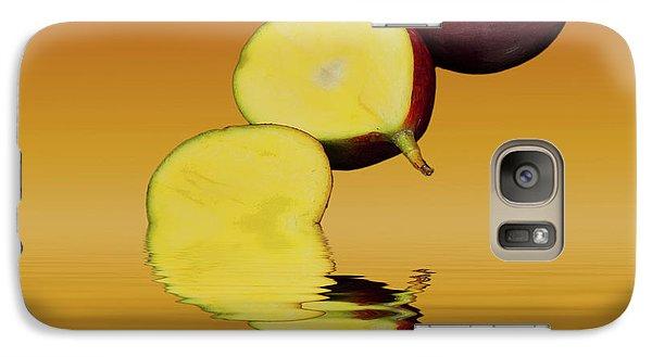 Fresh Ripe Mango Fruits Galaxy Case by David French