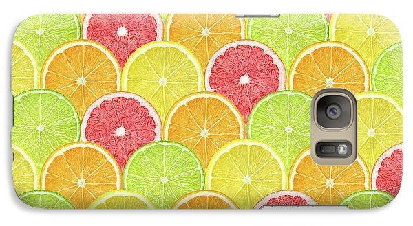 Fresh Fruit  Galaxy Case by Mark Ashkenazi