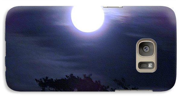 Full Moon Falling Galaxy S7 Case