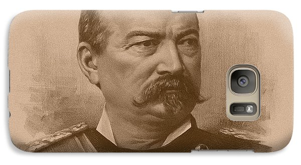 Galaxy Case featuring the drawing General Philip Sheridan by War Is Hell Store