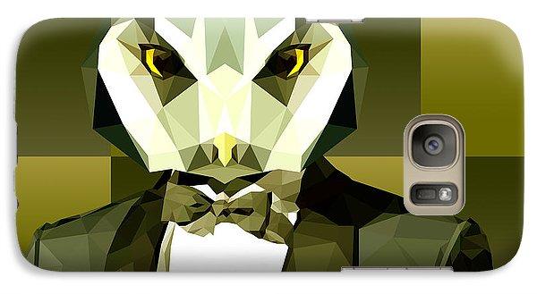 Geometric Owl Galaxy S7 Case