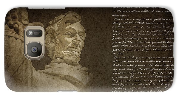 Gettysburg Address Galaxy Case by Diane Diederich