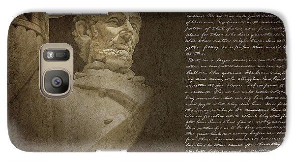 Gettysburg Address Galaxy S7 Case