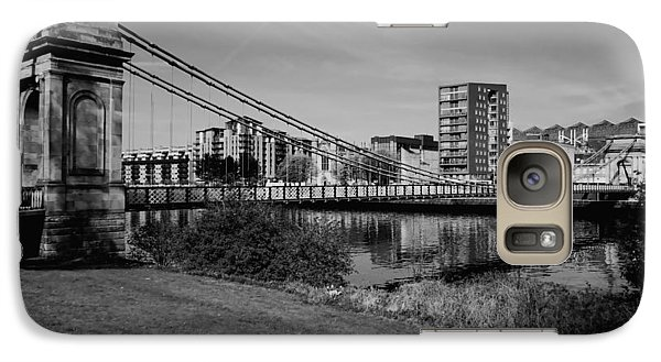 Galaxy Case featuring the photograph Glasgow by Jeremy Lavender Photography
