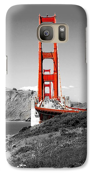 Golden Gate Galaxy S7 Case by Greg Fortier