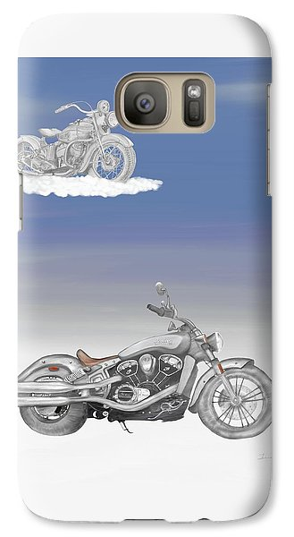 Galaxy Case featuring the drawing Grandson by Terry Frederick