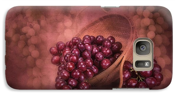 Grapes In Wicker Basket Galaxy S7 Case