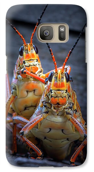 Grasshoppers In Love Galaxy S7 Case
