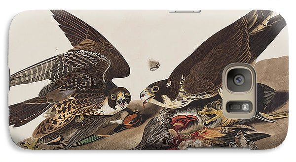 Great-footed Hawk Galaxy S7 Case by John James Audubon
